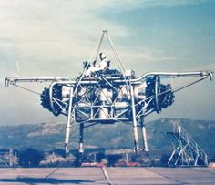 "Rolls-Royce Thrust Measuring Rig, aka the ""Flying Bedstead"""