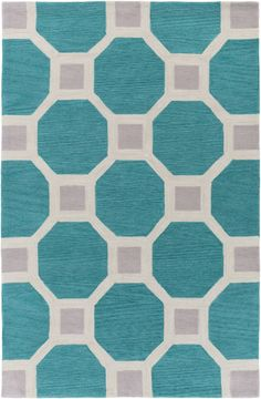 Holden Lennon Teal Area Rug