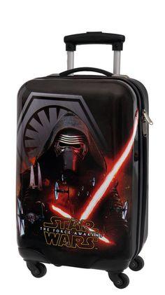 Maleta cabina modelo first one de Star wars, una maleta que hará que la fuerza te acompañe en todos tus viajes