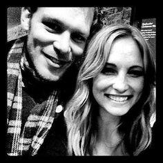 Joseph Morgan & Candice Accola
