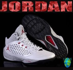 2cdb500a7a8e NIKE Jordan Rising High 768931 103 White Red Grey Black Basketball Shoes  Size 11  Nike