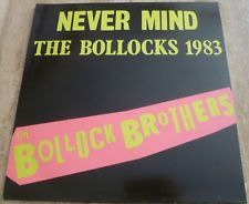 THE BOLLOCK BROTHERS NEVER MIND THE BOLLOCKS 1983 GREAT CONDITION.