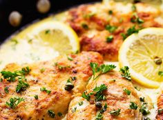 CREAMY LEMON CHICKEN PICCATA RECIPE – 1K Recipes!