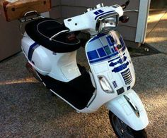 R2D2 scooter