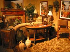 Old World Tuscan Living Room | old world decorated living rooms - Yahoo! Search ... | Tuscan Decor
