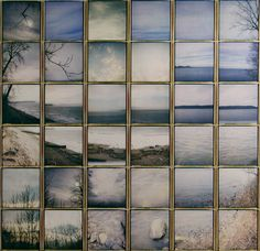 Since 2006 Brooklyn-based artist Patrick Winfield has been creating incredible photo collages by photographing and recreating scenes using a large number A Level Photography, Landscape Photography, Photography Ideas, Encaustic Art, Hudson River, Collage Art, Polaroid Collage, Polaroid Ideas, Surrealism
