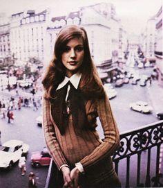 Yves Saint Laurent, 'Rive Gauche' perfume advertisement, Seventeen, November 1973.