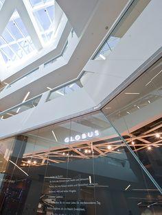 #globus #savoirvivre #departmentstore #store Department Store, Spaces, Lighting, Globe, Lights, Lightning
