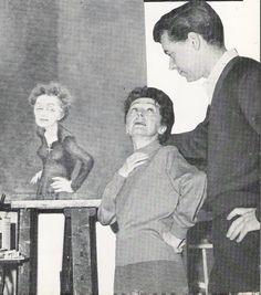 Mme.Piaf e Douglas Davis(caricaturista) Divas, France, Pictures, French Songs