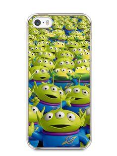Capa Iphone 5/S Aliens Toy Story #2 - SmartCases - Acessórios para celulares e tablets :)