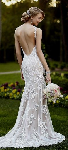 Beautiful Backless Wedding Dresses By Katie May | when you\'re not so ...