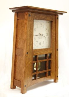 McCoy Mantle Clock #307-BH, Arts and Crafts Clocks, Accessories