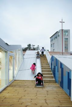 Gallery - Gangjin Children Center / JYA-RCHITECTS - 11