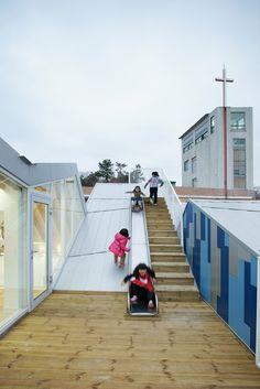 Gallery - Gangjin Children Center / JYA-RCHITECTS - 11