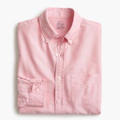 Image result for j crew pink begunia oxford shirt