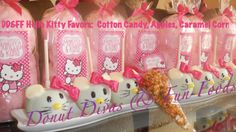 Hello Kitty Apples & Hello Kitty Cotton Candy large by DonutDivas, $46.00