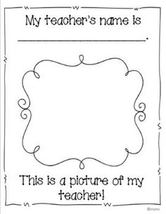 MY FIRST DAY OF SCHOOL- A KEEPSAKE BOOK - TeachersPayTeachers.com