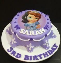 Princess Sofia New Fondant Cakes