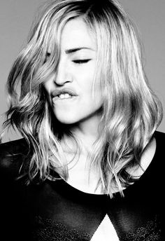Madonna's amazing hair! #layers #texture
