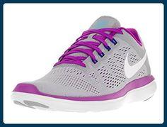 Nike Damen Wmns Flex 2016 RN Laufschuhe, Grau - Grey (004 Grey), Gr. 35.5 EU - Sportschuhe für frauen (*Partner-Link)