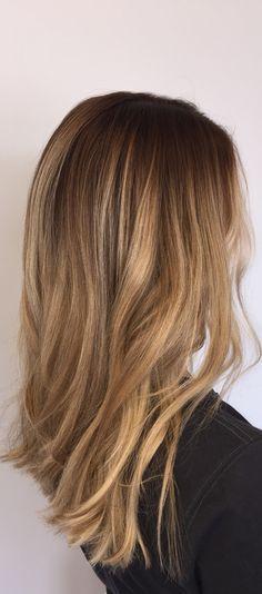 Honey blonde balayage.   #redken #redkenshadeseqcream #honeyblonde #blondebeauty #pureology #pureologylove #bswindellstylist