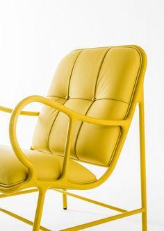 Upholstered armchair with armrests GARDENIAS INDOOR @bdbarcelona