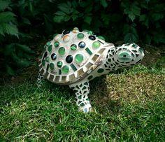 DIY. Mosaic Garden Turtle