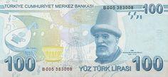 Matawang Turki (100 Türk Lirası).                    Nama Mata Wang:    Turkish Lira      Kod ISO 4217:    TRY      Ibu negara:    Ankara  ...