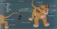 © Walt Disney Pictures © Buena Vista Distribution Young Simba by Mark Henn...