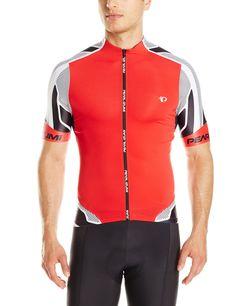Pearl Izumi - Ride Men's Pro Leader Jersey, True Red/Shadow Grey, Small