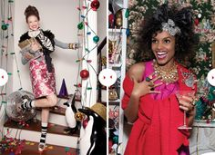 A little fun. A little outrageous! #HolidayStyle