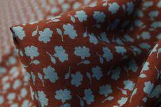 Terra Roses - Silk - Tessuti Fabrics - Online Fabric Store - Cotton, Linen, Silk, Bridal & more