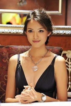 Zhang Zilin is a beauty queen and fashion model who won Miss China World in 2007 and was crowned Miss World 2007, representing China. She is the first Miss World of East Asian origin. Wikipedia