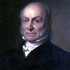 "John Quincy Adams (July 11, 1767-February 23, 1848) was the SIXTH President of the USA, serving from 1825 to 1829. His Vice-President was John Calhoun. As President, Adams' political party was ""National Republican."" John Quincy Adams' father, John Adams, was the second president of the United States."