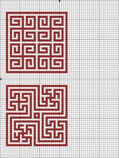 Mosaic Patterns, Loom Patterns, Beading Patterns, Knitting Patterns, Tapestry Crochet Patterns, Diy Embroidery, Cross Stitch Embroidery, Embroidery Patterns, Cross Stitch Patterns