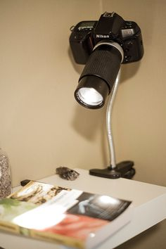Nikon Camera desk / table lamp by Aaronsphotogifts on Etsy, $75.00 I WANT THIS! LOL