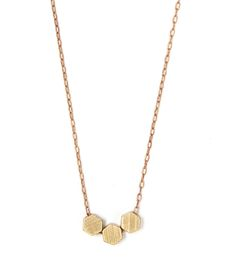 Solid Hexagon Necklace | Women's Jewelry | Michelle Starbuck Designs | Scoutmob Shoppe | Product Detail