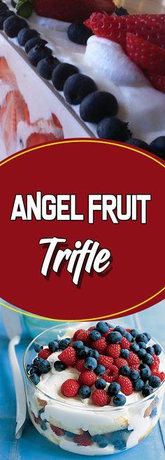 Angel Fruit Trifle