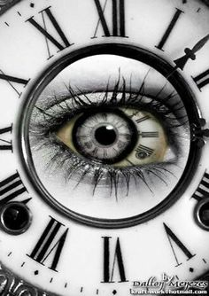 Keep Time on Eye