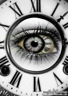 Keep Time on Eye