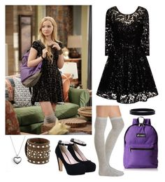"""Dove Cameron"" by genrac525 ❤ liked on Polyvore featuring Charlotte Russe, Chi Chi, Everest, Pandora, M&F Western, L. Erickson and Div11battlethree"