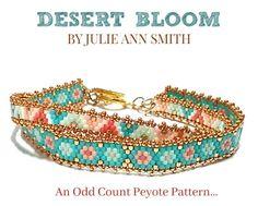 DESERT BLOOM Bracelet Pattern