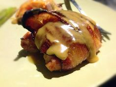 Paleo'ish on a Dime: Bacon-Wrapped Honey Mustard Chicken (Paleo / Gluten-free / Dairy-free)