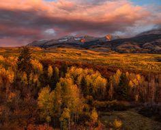 Automne Forêts Montagnes Paysage dans l'art  Nature