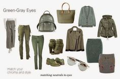 You have grey green eyes ~ expressing your truth closet