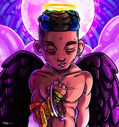 Xxtentaction Wallpaper Cartoon Rip Xxxtentacion Rapper Art