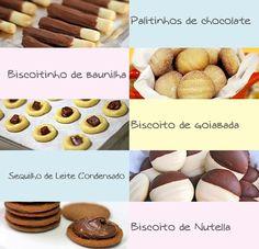 Eu adoro fazer biscoito! Acho tão terapêutico! Além de ser um luxo servir um café com biscoito feito por você! Hoje vai sair umas fornadas aqui em casa e por isso vou dividir algumas boas receitas …