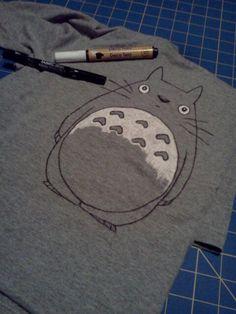 DIY Totoro Shirt