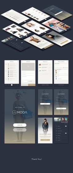 A high quality fashion app interface, designed in Photoshop. LaModa includes 17 high end premium iOS screen templates, all screens are ready & easy to use. Fully layered, editable, and scalable, this fashion app is the perfect UI Kit for iOS mobile platform.