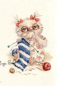 Saved from artists' own Pinterest board ... Inga Izmaylova